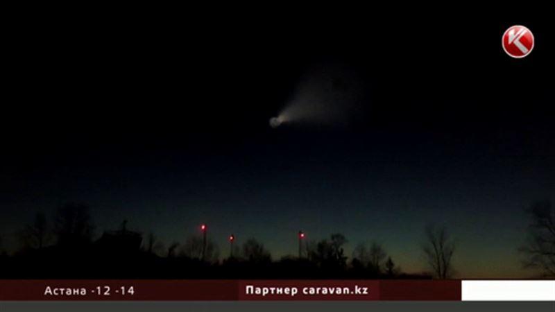 НЛО в небе над Казахстаном: объяснение специалистов