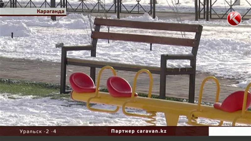 В Караганде воры, прикрываясь акиматом, воровали скамейки