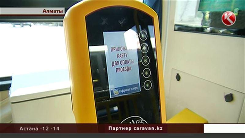 Алматинцы могут не платить за проезд, если терминал «Онай» не работает