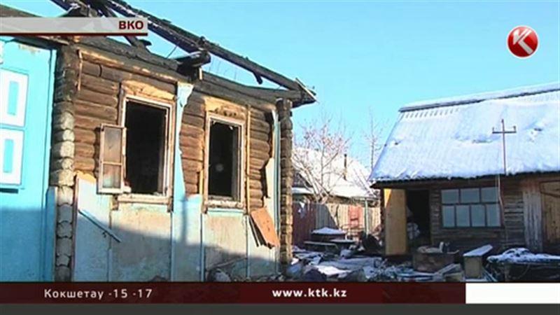 Житель Восточно-Казахстанской области подорвал собственный дом