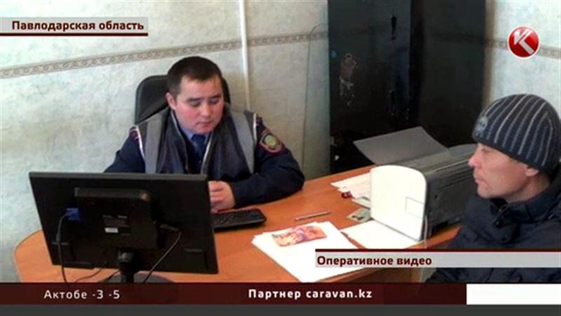 В Павлодарской области сельский житель покупал спиртное за сувенирные деньги