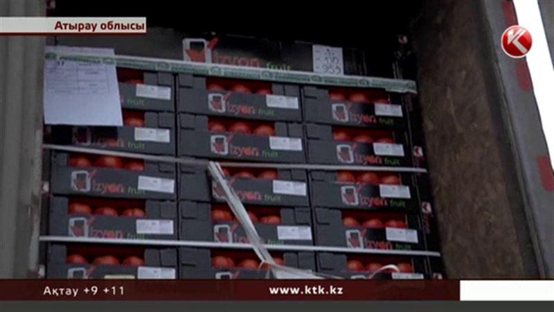 35 тонна жеміс-жидек пен көкөніс Атыраудан кері қайтарылды