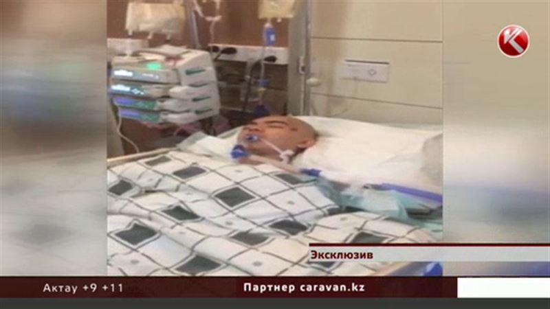 ЭКСКЛЮЗИВ:  Друзья пострадавшего в Китае казахстанца круглосуточно дежурят у палаты