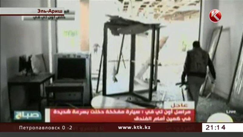 Взрывы прогремели около египетского отеля