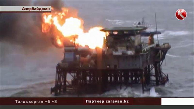 Казахстанские моряки помогут найти пропавших на Каспии нефтяников