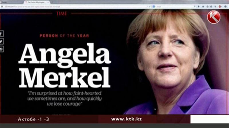 Ангела Меркель стала главной персоной 2015 года по версии Time
