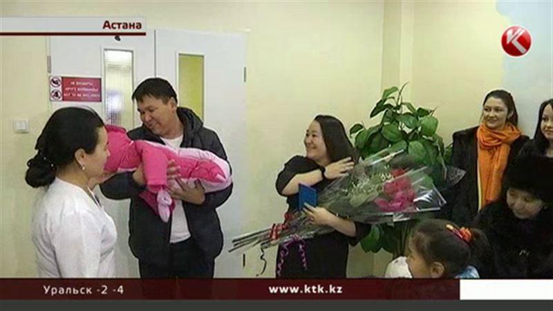В канун Дня независимости в Казахстане родилось 284 ребенка