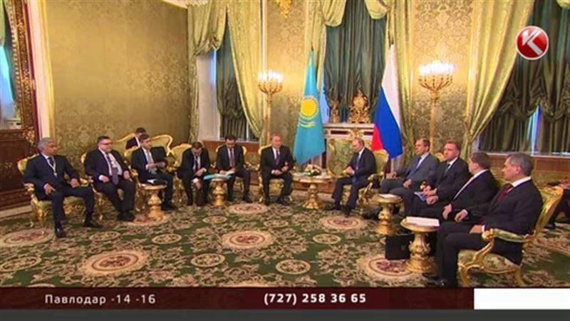 Назарбаев проводит переговоры со своими коллегами из стран ЕАЭС и ОДКБ