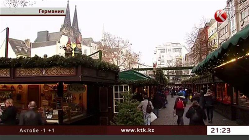 В Европе любуются не снегом, а цветущими вишневыми деревьями