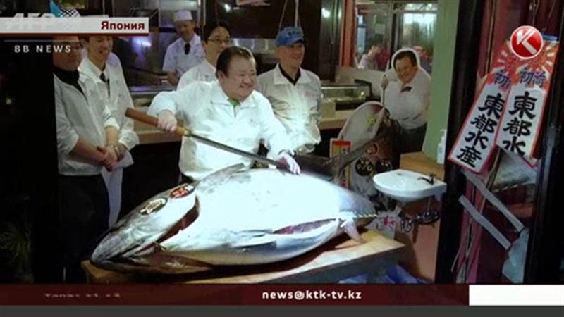 Японский ресторатор выложил за рыбу 118 тысяч долларов