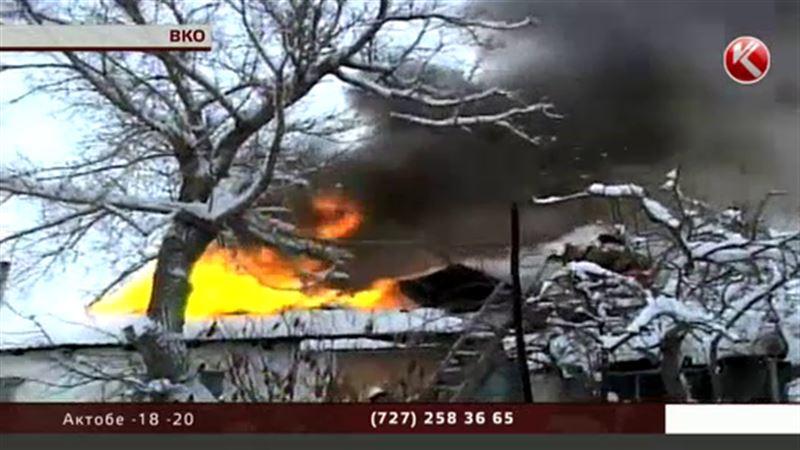 За первые три дня нового года в ВКО случилось 20 пожаров