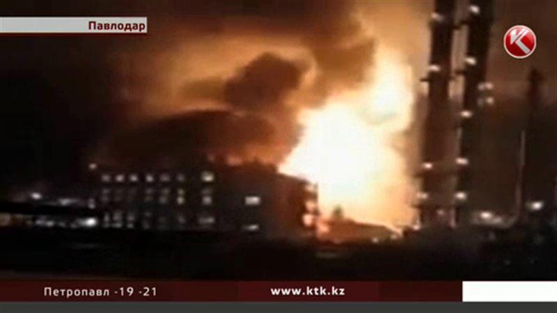 В Павлодаре вспыхнул цех по изготовлению пластиковых труб, есть погибшие
