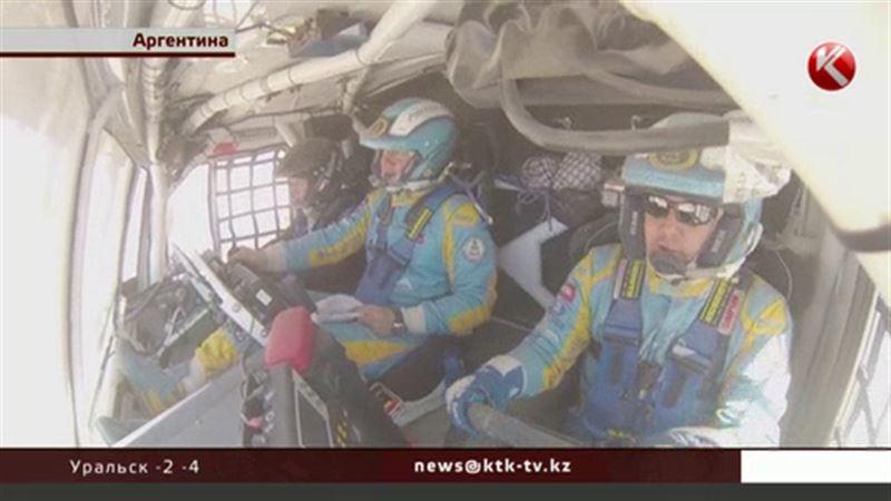 Казахстанцы на «Дакаре» приближаются к лидерству