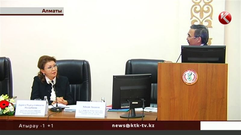 В вузах Алматы принимали гостей из столицы во главе с Даригой Назарбаевой