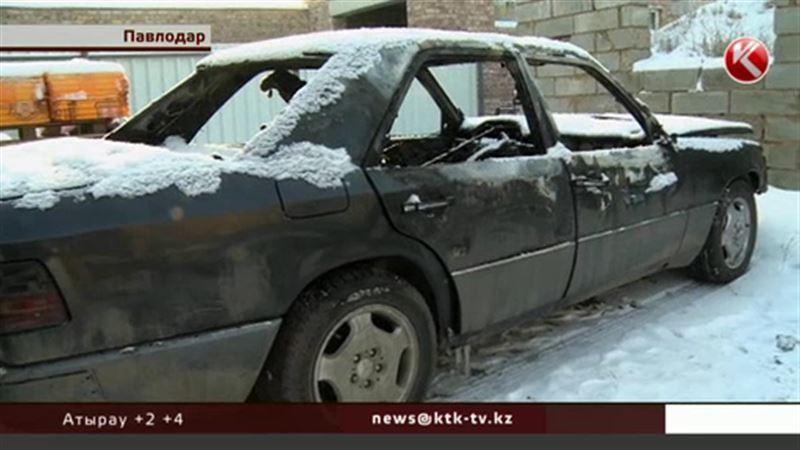 В Павлодаре появился поджигатель немецких авто