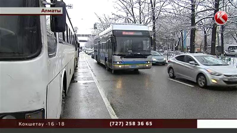 Водителей алматинских автобусов, которые устроили забастовку, хотят уволить