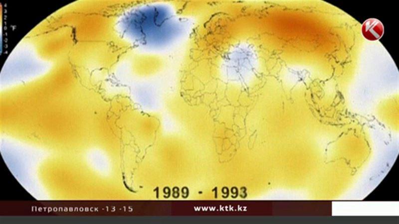 Прошедший год назвали самым жарким за всю историю метеонаблюдений