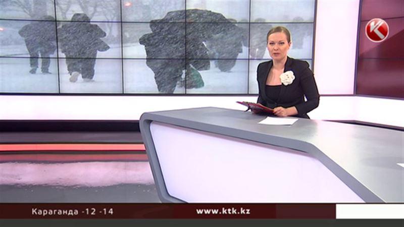 Казахстан снова накроют снегопады и метели