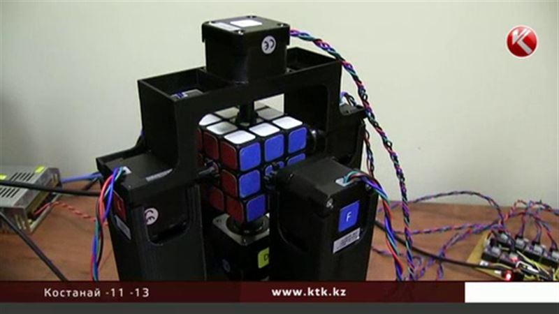 Робот собрал кубик Рубика в пять раз быстрее человека