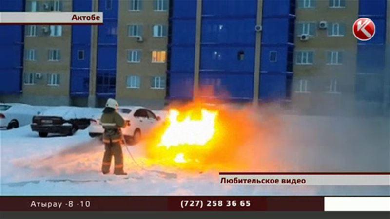 Машинами, которые загораются сами по себе, заинтересовались полицейские