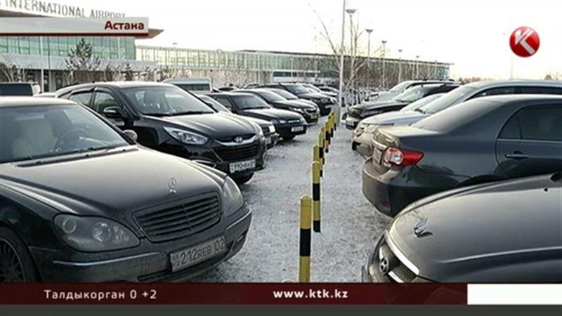 В Астане платные автопарковки появятся уже в этом году