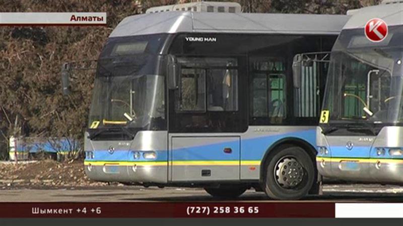 В Алматы ежемесячно будут выбирать лучшего водителя автобуса
