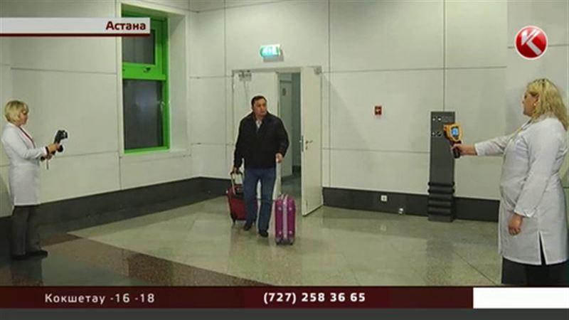 В казахстанских аэропортах ловят носителей «свиного гриппа»