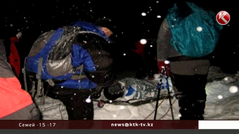 Алматылық құтқарушылар польшалық туристің денесін қандай қиындықпен шығарғандарын айтты