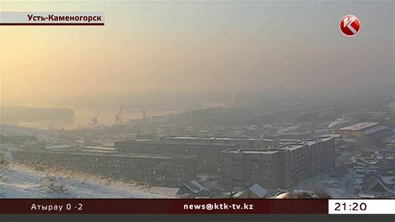 Усть-Каменогорск уже две недели задыхается в ядовитом смоге