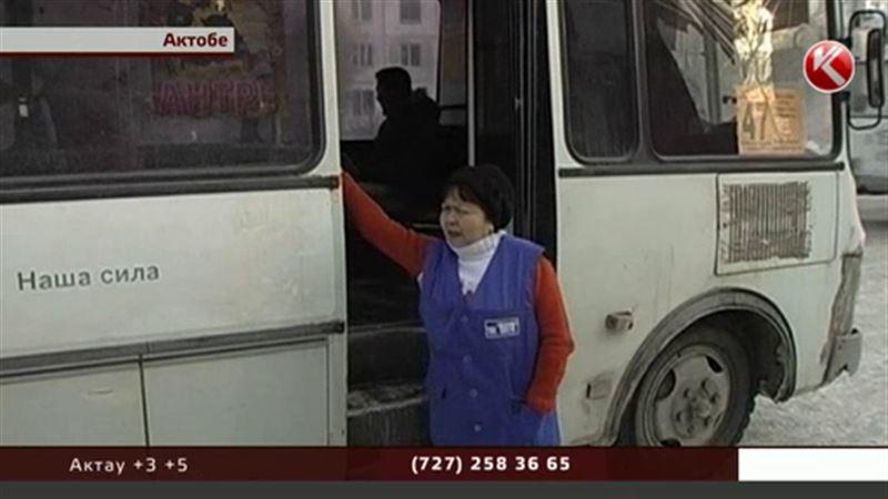 Водители актюбинских автобусов перестали получать зарплату