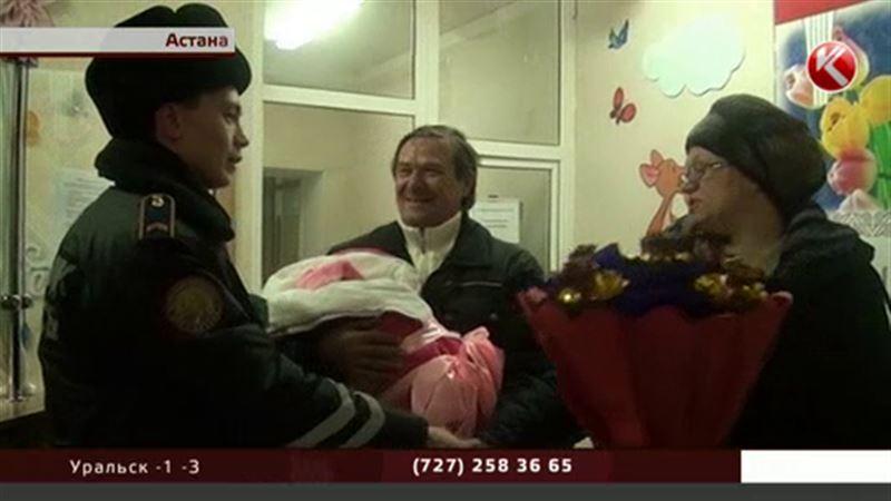 Астанинские полицейские спасли женщину, у которой внезапно начались роды