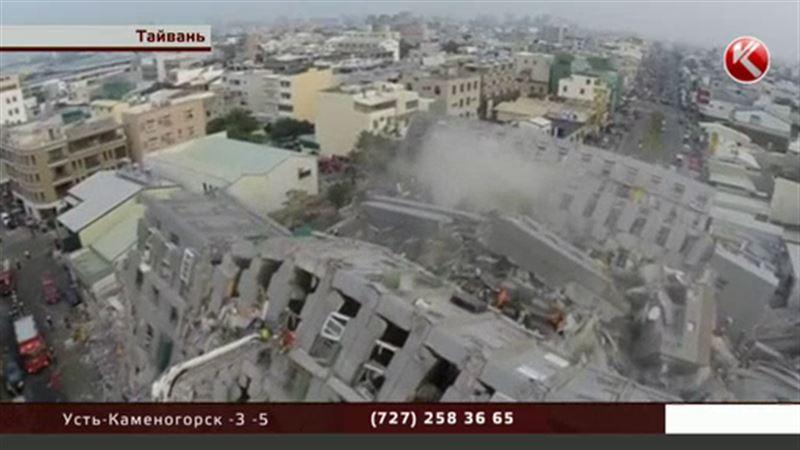 Число жертв землетрясения на Тайване продолжает расти
