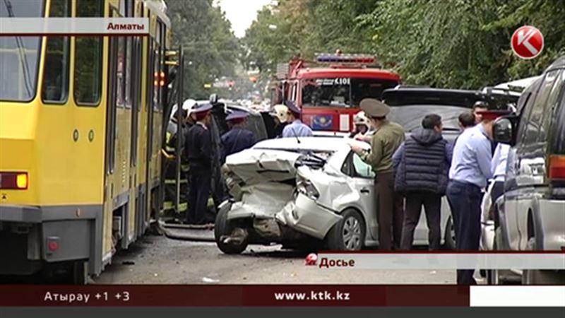 Разбушевавшийся алматинский трамвай был неисправен