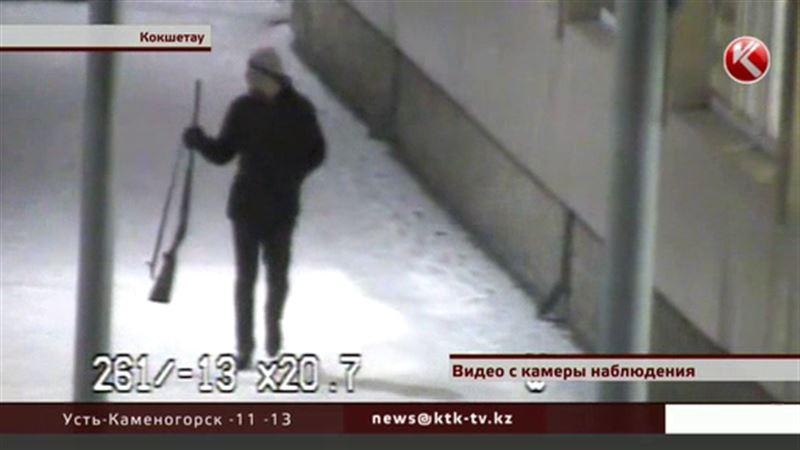 В Кокшетау задержали человека с ружьем, который хотел рассчитаться с отчимом