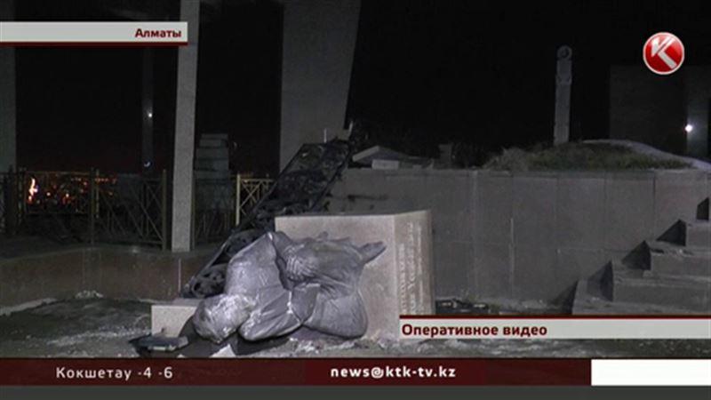 Вандалы разгромили могилу ветерана Великой Отечественной
