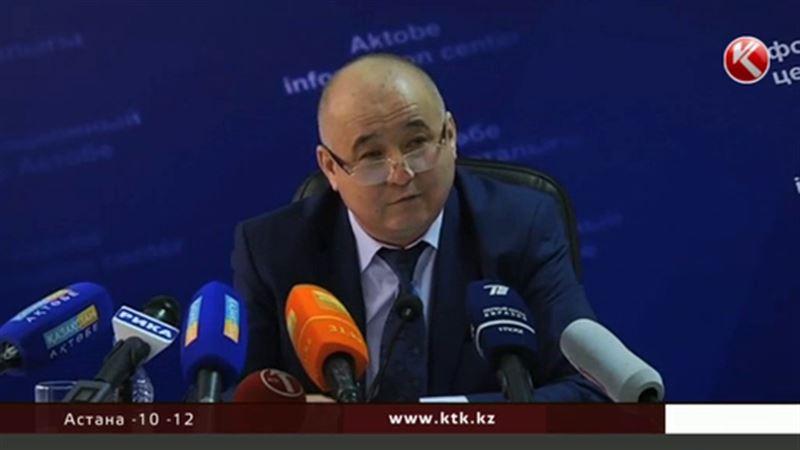 Актюбинской аким решил не отдавать нефтяникам землю под свалку