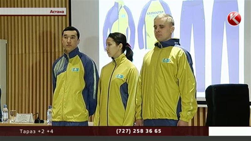 Олимпийцев Казахстана облачат в форму цвета горчицы