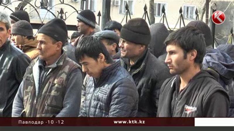 Тысячу поваров, кондитеров и строителей задержали алматинские полицейские