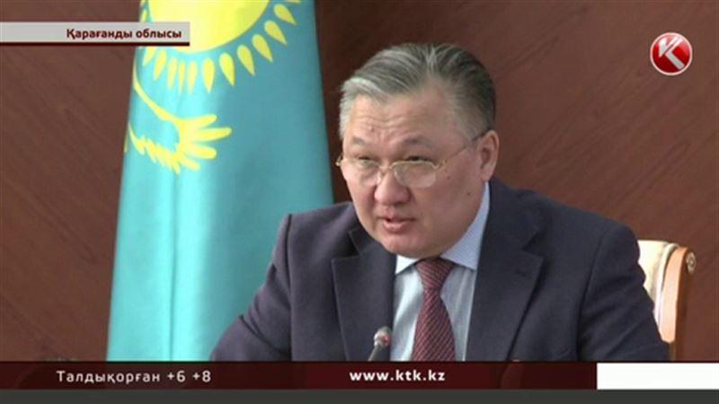 Қарағанды облысының әкімі  тасқынды көріпкелдерге жорытатын болды