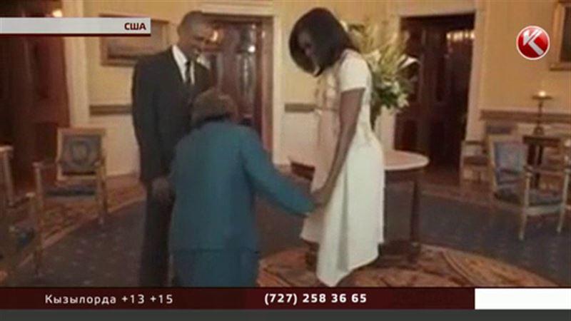 Пожилая американка осуществила свою мечту – станцевала с Обамой