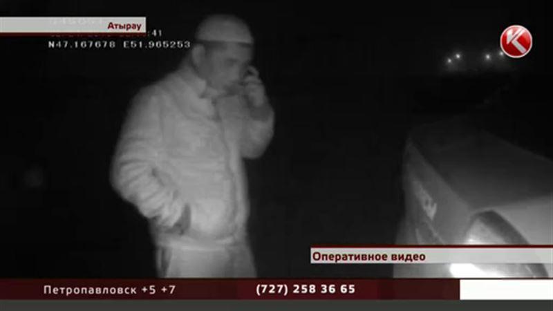 В Атырау водитель избил себя сам и обвинил полицейских