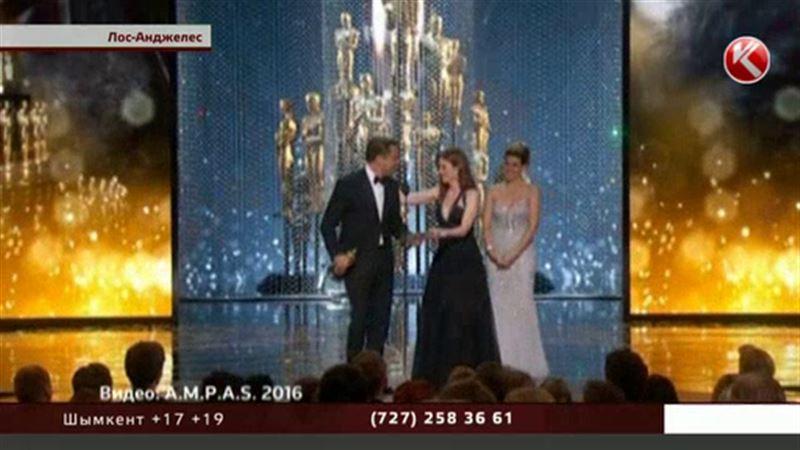 Әйгілі Леонардо Ди Каприо ақыры «Оскар» сыйлығын алды