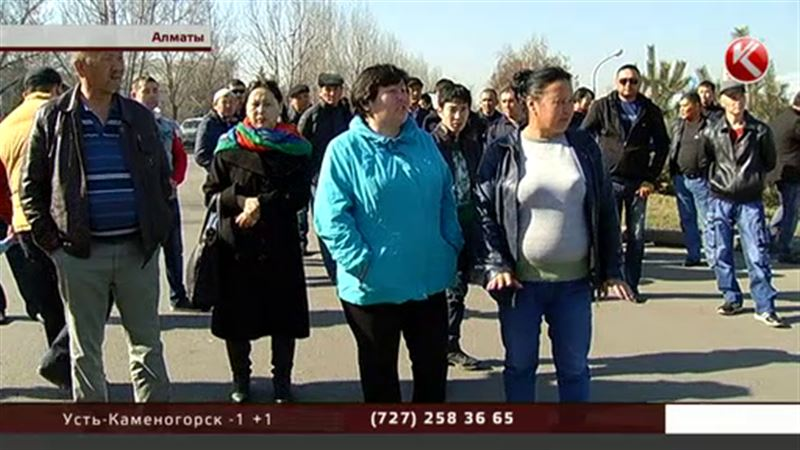 Возведение торгового комплекса в Алматы обернулось скандалом