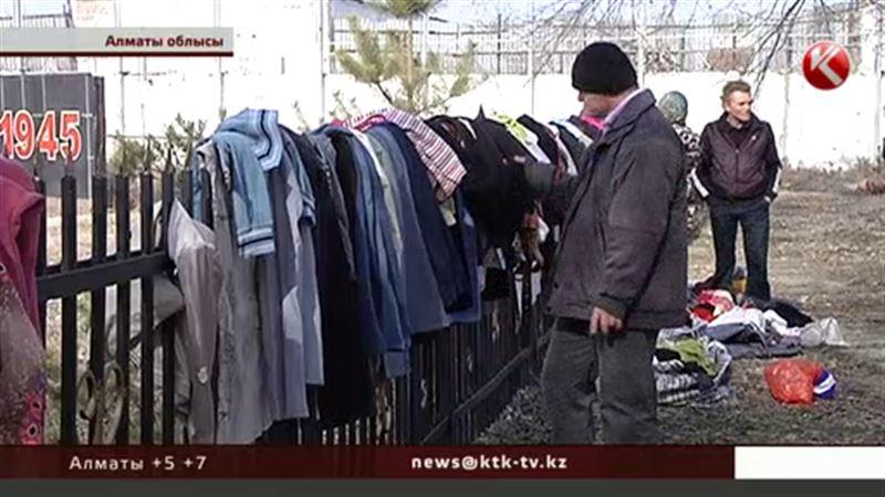 Алматы облысында көп балалы аналарға тегін киім таратылды