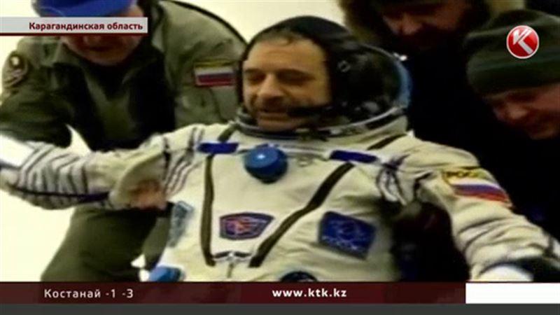 Космонавты, приземлившиеся в Казахстане, пожаловались, что им не хватало огурцов