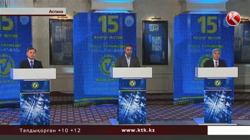 Саяси партиялар теледебатта пікірталастырмақ