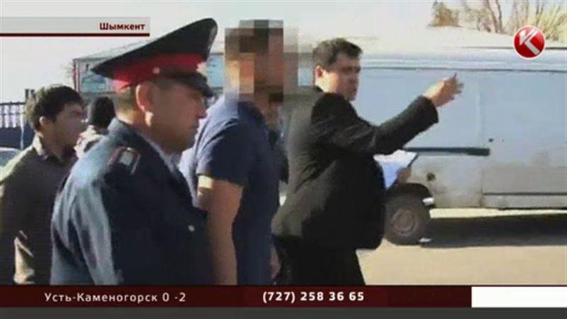 Полицейские Шымкента задержали расстрелявших машину директора газовой компании
