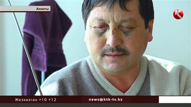 ЭКСКЛЮЗИВ: Неожиданный поворот в деле избитого водителя алматинского автопарка