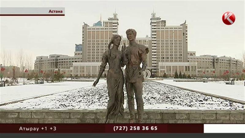 Скульптура полуобнаженной девушки возбудила Астану только через 10 лет