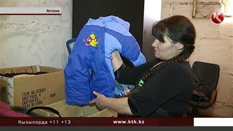 «Караван доброты»: подвал в Астане стал популярнее бутиков